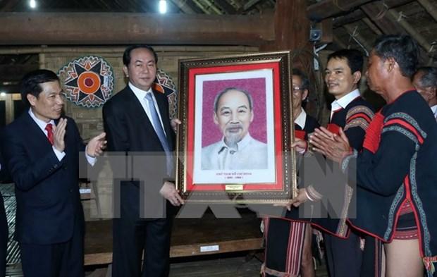 Amenas actividades saludan Dia de las Nacionalidades de Vietnam 2016 hinh anh 1