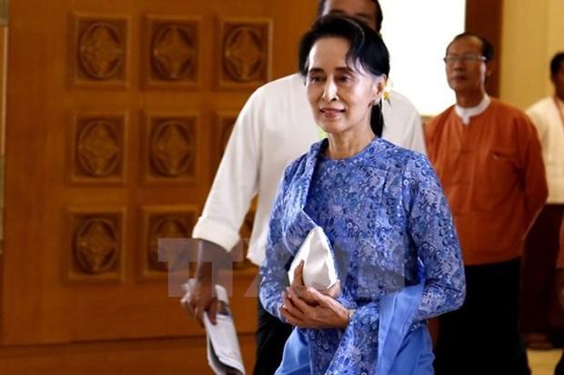 Aung San Suu Kyi: Myanmar iniciara un cambio a partir del ano nuevo tradicional hinh anh 1