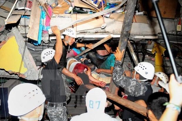 ASEAN muestra solidaridad con paises afectados por terremotos hinh anh 1