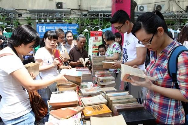 Celebran Dia del Libro de Vietnam en Kien Giang hinh anh 1