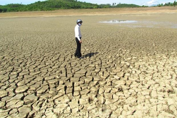 Sequia continua afectando provincias centrales y surenas de Vietnam hinh anh 1