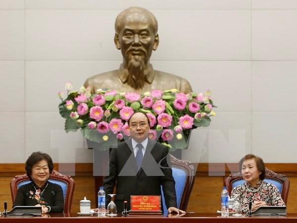 Premier elogia operacion efectiva del Fondo de becas Vu A Dinh hinh anh 1