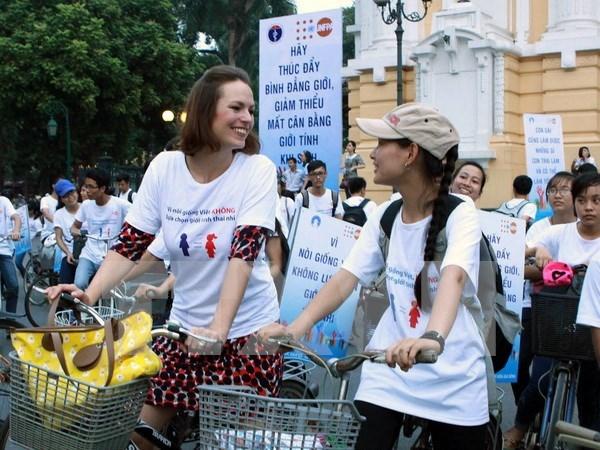 Vietnam avanza en empoderamiento de la mujer hinh anh 1