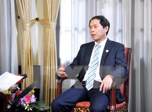 Vietnam por seguir coadyuvar a fomento de asociacion integral Asia- Europa hinh anh 1