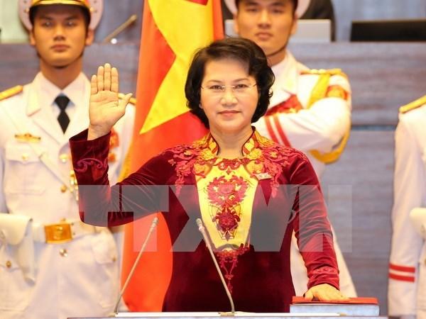 Promuevan rol de prensa en empoderamiento politico de la mujer hinh anh 1