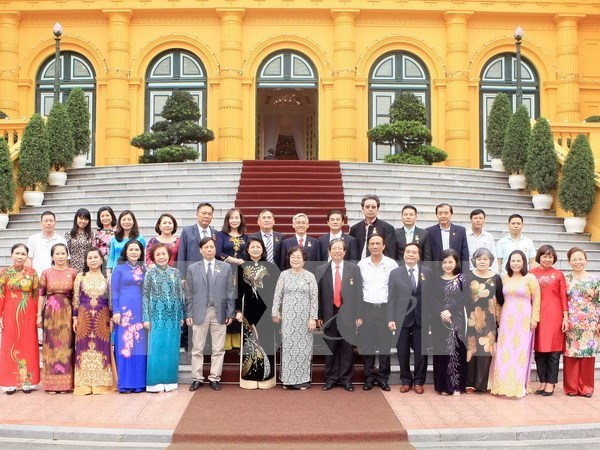 Vicepresidenta vietnamita destaca aportes de filantropos hinh anh 1
