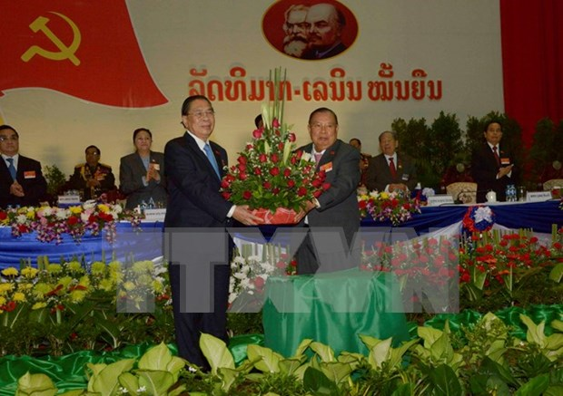 Elige Asamblea Nacional de Laos a dirigentes de alto nivel del pais hinh anh 1