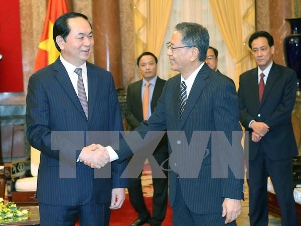Vietnam exhorta la ayuda de Japon en respuesta al cambio climatico hinh anh 1