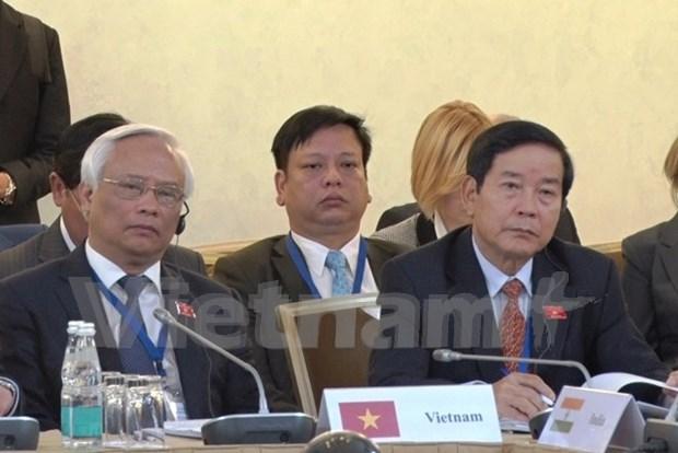 Asiste Vietnam a conferencia de presidentes de parlamentos Asia- Europa hinh anh 1