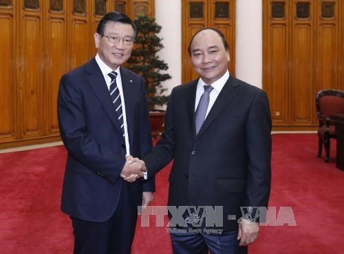 Vietnam da la bienvenida a la inversion de Kumho Asiana, segun premier hinh anh 1