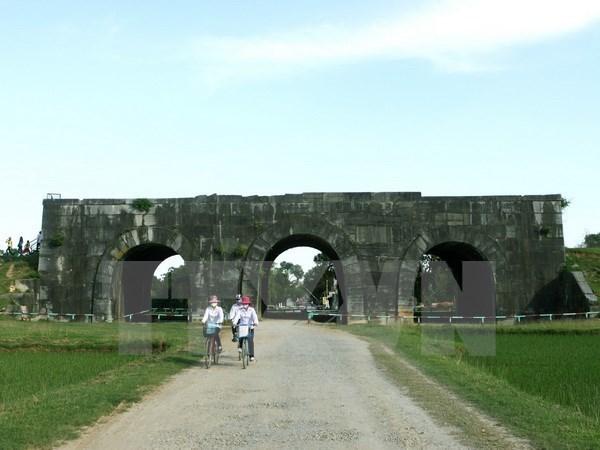 Ciudadela de dinastia Ho en provincia de Thanh Hoa, patrimonio cultural mundial hinh anh 1