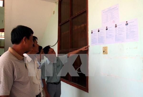 Presentan unos 880 candidatos para las proximas elecciones legislativas de Vietnam hinh anh 1
