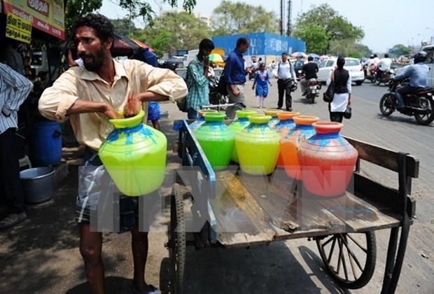 Camboya suministra agua potable a zonas afectadas por la sequia hinh anh 1