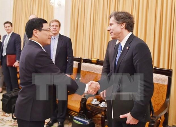 Determinado Estados Unidos fortalecer lazos multifaceticos con Vietnam hinh anh 1