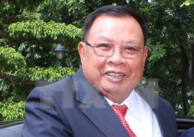 Visita de presidente laosiano a Vietnam fortalece confianza bilateral hinh anh 1