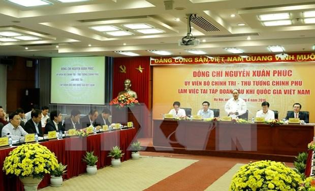 Premier alaba contribuciones de PetroVietnam a seguridad nacional de energia hinh anh 1