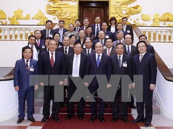 Premier: Vietnam coordinara con Laos para robustecer nexos bilaterales hinh anh 1