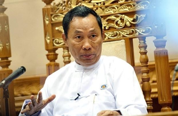 Myanmar: USDP libero de cargos a altos funcionarios hinh anh 1