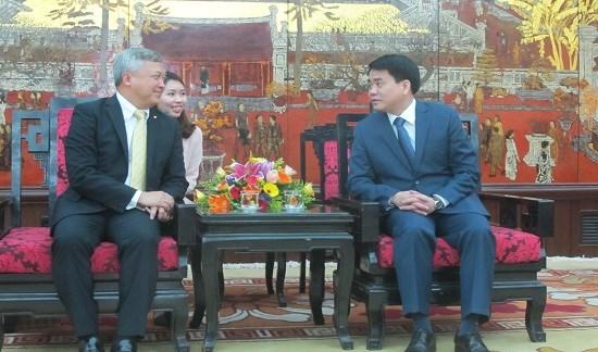Embajador indonesio propone apertura de vuelo directo a Hanoi hinh anh 1
