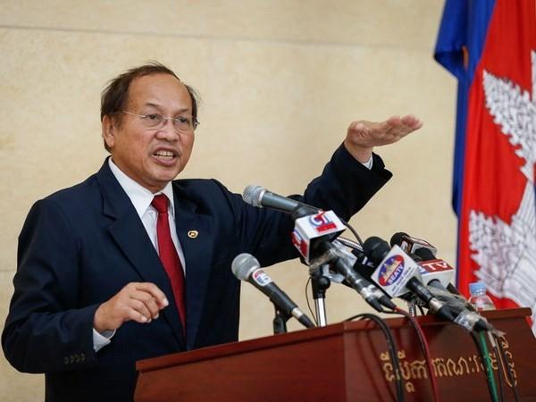 Refuta Cambodia informacion de nuevo acuerdo con China sobre Mar del Este hinh anh 1