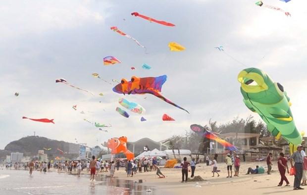 Celebran en Vietnam Festival Internacional del Cometa hinh anh 1