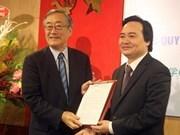 Designan primer rector de Universidad Vietnam – Japon hinh anh 1