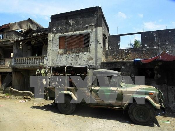 Ejercito de Filipinas elimina 14 pistoleros de Abu Sayyaf hinh anh 1