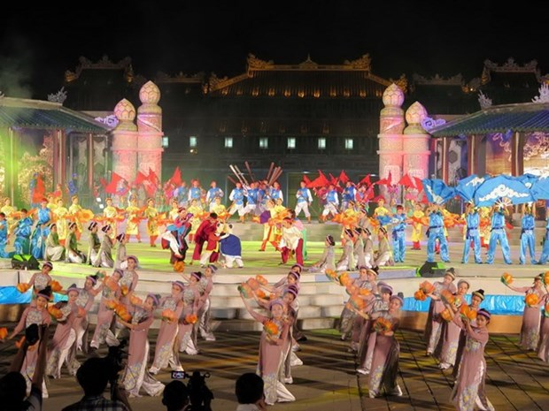 Inauguran Festival Hue 2016 hinh anh 1