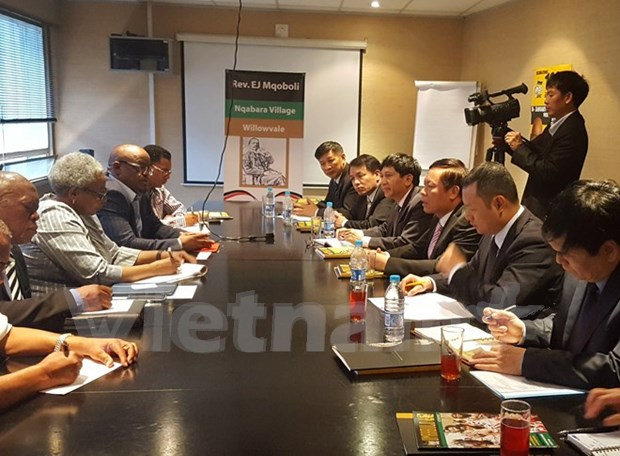 Vietnam y Sudafrica impulsan la cooperacion de comunicacion hinh anh 1