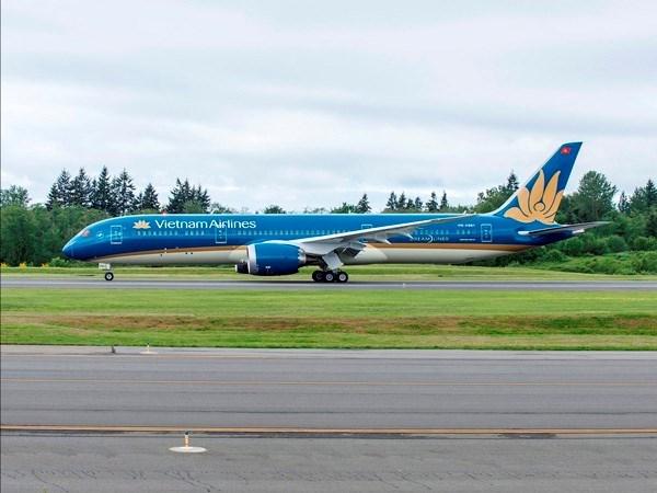 Vietnam Airlines utiliza Boeing 787 Dreamliner en ruta Hanoi-Beijing hinh anh 1