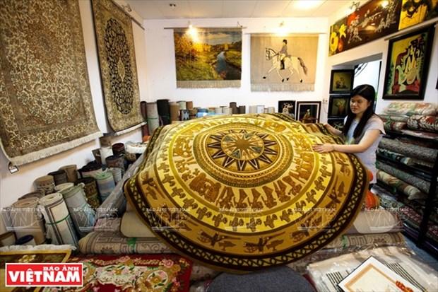 SAGOCA, empresa lider en fabricacion de alfombras de lana hinh anh 1