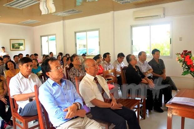 Comunidad vietnamita en Angola conmemora Dia de Reunificacion Nacional hinh anh 1