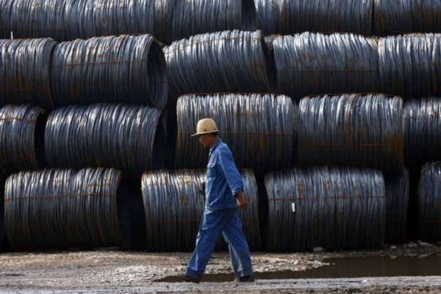 Continuan en Vietnam aranceles contra aceros importados hinh anh 1