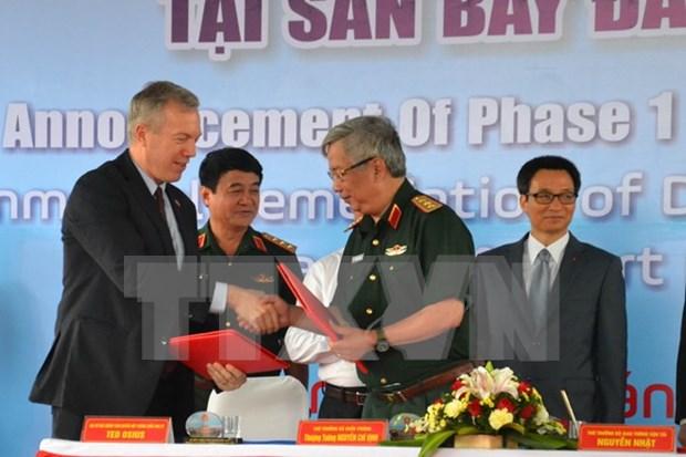 Anuncian exito de descontaminacion de tierras afectadas por dioxina en Da Nang hinh anh 1