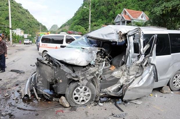 Reportan 152 accidentes de trafico en dias feriados hinh anh 1