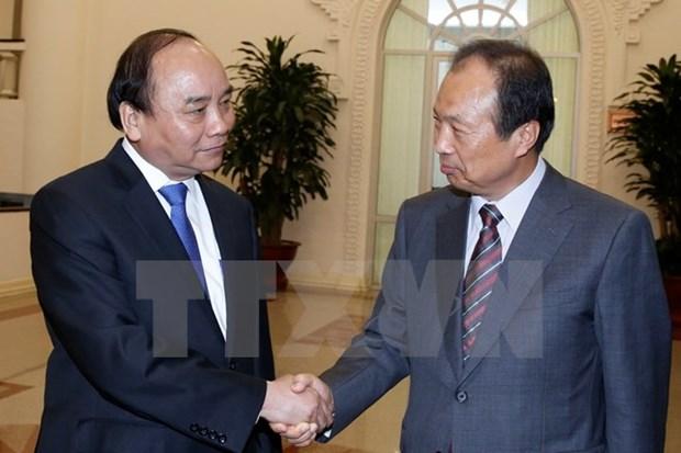 Primer ministro respalda a Samsung para ampliar sus operaciones en Vietnam hinh anh 1