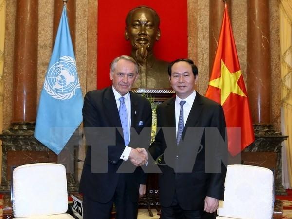 Vietnam reitera compromiso con los esfuerzos de Naciones Unidas hinh anh 1