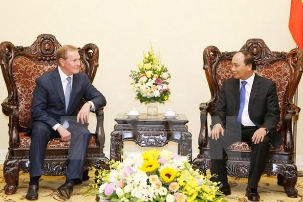 Premier vietnamita recibe delegacion de empresarios estadounidenses hinh anh 1