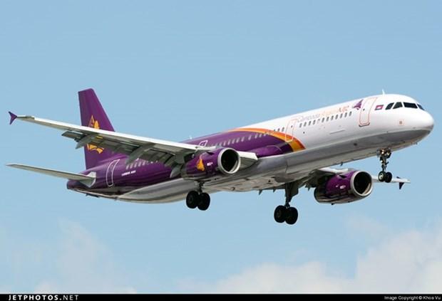 Abren nueva ruta aerea entre ciudades de Vietnam y Camboya hinh anh 1