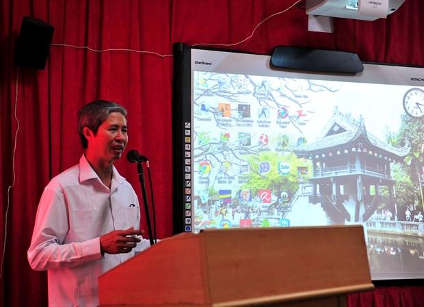 Conmemoran en Cuba victorias revolucionarias vietnamitas hinh anh 1