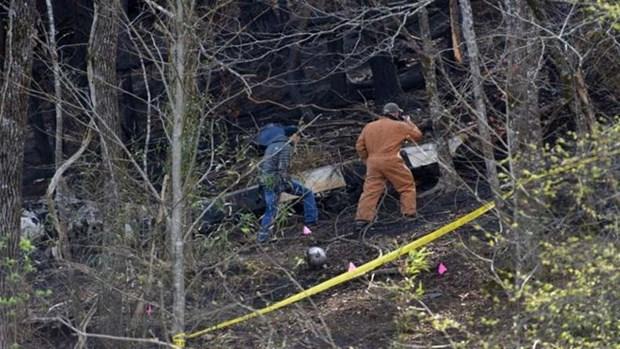 Encuentran restos del helicoptero desaparecido en Malasia hinh anh 1
