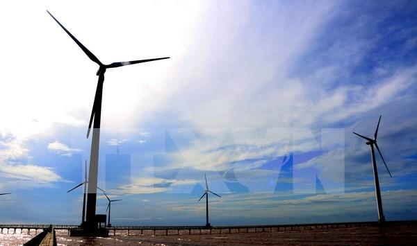 Sudcorea invierte en planta de energia eolica en Vietnam hinh anh 1