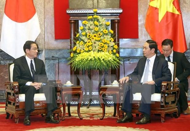 Japon es socio importante y perdurable de Vietnam, afirma presidente hinh anh 1