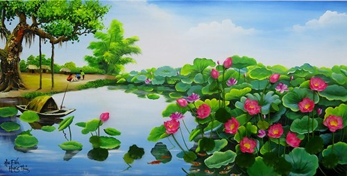 Exposicion sobre flores de Vietnam y Sudcora abre sus puertas en Hanoi hinh anh 1