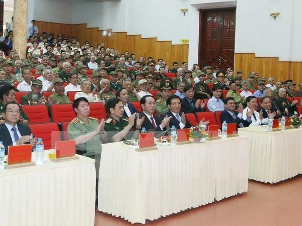 Conmemoran en Vietnam victoria de batalla de Dien Bien Phu hinh anh 1