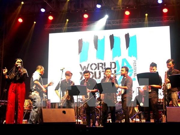 Musicos vietnamitas actuan en festival internacional de jazz en Malasia hinh anh 1