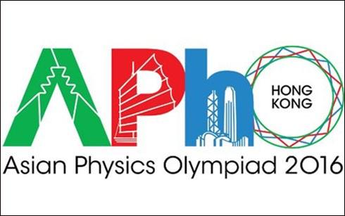 Alumnos vietnamitas brillan en Olimpiada Asiatica de Fisica hinh anh 1
