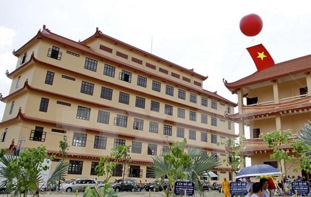 Inauguran Instituto Budista de Vietnam en Ciudad Ho Chi Minh hinh anh 1