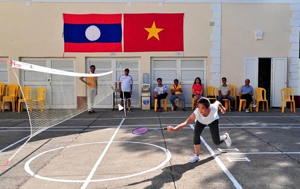 Intercambio refuerza unidad vietnamita – laosiana en Cuba hinh anh 2