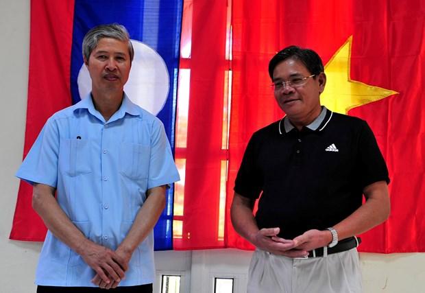 Intercambio refuerza unidad vietnamita – laosiana en Cuba hinh anh 1